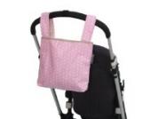 Poplico Taschen für Kinderwagen und grosse Roller Rose