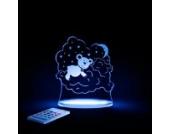 Aloka Nachtlicht Bär mit Fernbedienung