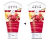 Lavera Bodymilk Cranberry & Arganöl 150 ml + Creme-Öl Dusche Cranberry & Arganöl 150 ml im Set für zarte und glatte Haut