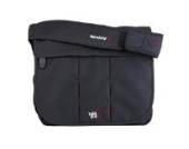 BB23–001Umhänge-Wickeltasche in schwarz von BabaBing