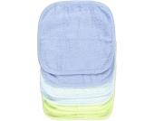 Babies R Us - Waschlappen 6er Pack, Blau/Grün