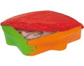 BIG Sandkasten Sandy mit Abdeckplane [Kinderspielzeug]