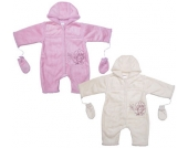 Liliput Baby-Overall mit Handschuhen Gr. 62 (Wollweiß) [Babykleidung]