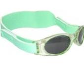 Sonnenbrille für Babys unter 2 Jahren - Sunnyz - Mit Kopfband! (grün)