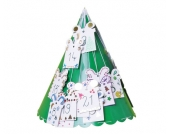 edumero Tannenbäume-Bastelset, 6 Stück