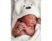 Junge, Mädchen, Tierbaby- Bademantel / Babydecke mit Kapuze Badetuch / Kind Bad Frottee Bade Kinder Säugling / Baby -Fleece robeCoral