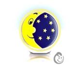 REER LED-Nachtlicht Mond und Sterne