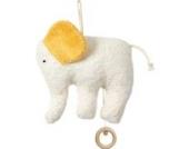 Spieluhr Elefant, kontrolliert biologischer Anbau, 100 % Made in Germany