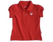 Liegelind - M�dchen-Poloshirt rot, kbA