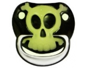 Billy Bob PIRATE skull & crossbones teeth BABY PACIFIER baby gag gift by Billy Bob Teeth (English Manual)