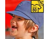 Pickapooh - Kinder-Sonnenhut Mika marine UV Schutz 80, kbA - Gr.