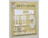 Baby Kleinkind Sicherheitsverschluss Set Kindersichere Steckdosen Abdeckungen, Kühlschrankschloss etc.