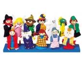 Goki Fingerpuppen-Set mit Holzk�pfchen [Kinderspielzeug]