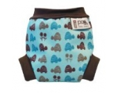 Close Pop-in Schwimmwindeln Blue Turtle - Small (Neugeborene, ab 3 Kg) - Design 2013