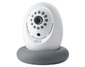 NUK 10256351 Babyphone Eco Smart Control 300, Übertragung per App auf Smartphone, Plug und Play, frei von Funkstrahlung im Kinderzimmer, 1 Stück