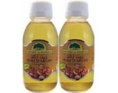 2-er Set Arganöl (Aceite De Argan - Huile D'Argan - Argan Oil) Premium Bio Organic, 100% Pure aus Marokko, 100% natürlich, 125 ml / 4,23 Unzen je Big Bottle, geliefert Von Spanien, First Class Oil. Bio-zertifiziert.