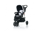 Babies R Us - Sportwagen Moving Light, white-black