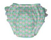 iplay Schwimmwindel UV-Schutz 50+ 6 Monate Blossoms Mädchen