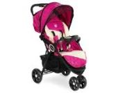 Froggy® Kinderbuggy DINGO Kinderwagen Buggy Jogger ultraleicht 5-Punkt-Sicherheitsgurt kompakt zusammenklappbar Liegefunktion Sonnenverdeck Raspberry