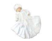 Taufkleid mit Mantel Jacke Wintermantel Taufkleider für Mädchen Baby Babies Kleinkind für Taufe Hochzeit Feste, Größe 80 86 L25