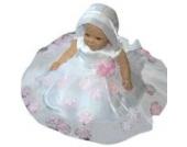 Sommer Taufkleid sommerliches Kleid Taufkleider Baby Babies für Taufe Hochzeit Feste, Größe 80 86 Y18