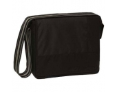 Lässig Wickeltasche Messenger Bag Classic Design Patchwork black - schwarz