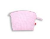 La Fraise Rouge 4251005600603 Kulturtasche Julie, Vichy Karo, rosa/weiß
