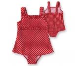 PLAYSHOES Kinder Badeanzug mit UV Schutz Gr. 122/128 Mädchen Kinder