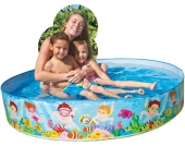 Intex Quick Snap-Pool Unterwasserwelt 152 cm [Kinderspielzeug]