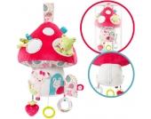 Baby Fehn Sweetheart Riesen Spieluhr Deluxe Fliegenpilz mit LED (Brahms Lullaby) [Babyspielzeug]