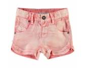 Name it Girls Mini Jeans Short CAMMI suger coral - orange - Mädchen