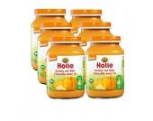 Holle Bio Kürbis mit Reis 6 x 190 g - Gr.ab 4 Monate
