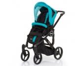 ABC Design Kombikinderwagen Mamba plus CORAL - blau