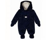 KANZ Baby Teddyplüsch Overall dress blue