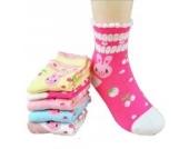 Luckystaryuan ® Set von 5 Mädchen Socken Frühling Herbst Schöne Socke Geschenk für Tochter (9-12years old, Bild 3)