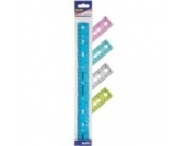 RING BINDER RULER 30CM SHATTERPROOF PK10