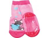 ewers ABS Socken mit Vollsohle - Maus