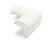Kantenschutz 10er Set - Weiß ca. 7 x 7 x 4 cm - Tischkantenschutz für Kindersicherung und Möbelschutz - Grinscard