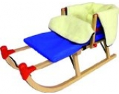 Baby Fußsack für Schlitten Schlittenfußsack Winter warm royalblau