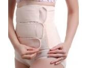 Frauen Sommer-Baumwolle atmungsaktiv Entbindung Kaiserschnitt postpartale Bauch Becken Recovery Gürtel Belly Band Binder (L)
