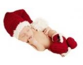 DAYAN Foto Fotografie Prop Baby Kostüm niedlich Weihnachten häkel Stricken Handarbeit (0-24 Monaten)