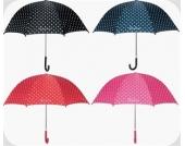 Kinder-Regenschirm Serie PUNKTE rot oder marine