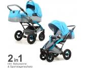 Knorr-Baby Kombikinderwagen Voletto Happy Colour