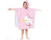 Badeponcho Hello Kitty, Morgane, 60 x 120 cm Mädchen Kleinkinder