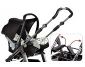 HARTAN Adapter zu Buggy iX1 f�r R�mer Baby Safe Plus SHR II