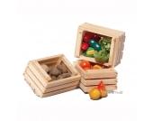 Bodo Hennig Puppenhaus Miniatur Obst- und Gemüsekisten