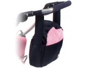 Bayer Chic 2000 Wickeltasche für Puppenwagen (Pink Checker) [Kinderspielzeug]