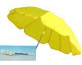Sonnenschirm Schirm für Kinderwagen UV Schutz 70 cm gelb