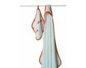 aden + anais 3023 - Splish Splash Frotteetuch mit Kapuze & Musselin Waschlappen Set