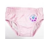 natubini Mädchen Windelbadehose Flamingo-Girl, orig. aquabini Kinder Swim Wear Baby Schwimmwindel u. Kleinkinder Badehose in einem, mit integriertem Hygienevliesstoff Größe 62/68 (3 - 6 Montate)